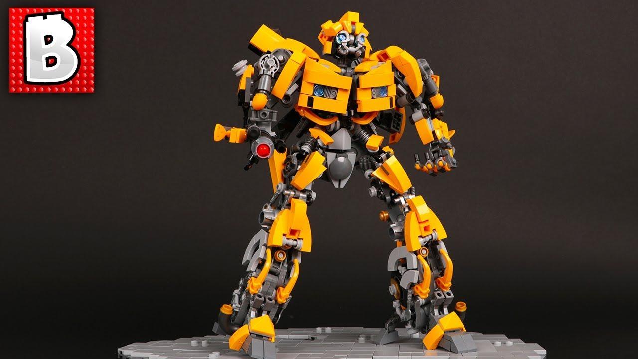 Lego Bumblebee Transformer Lego Blade Runner 2049 Moc