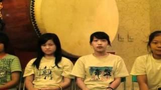 """2010年鼓舞青年團欣賞""""鬼太鼓座""""演出影片的心得分享。"""