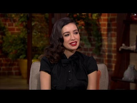 Christian Serratos Fights Off Zombies On † The Walking Dead †