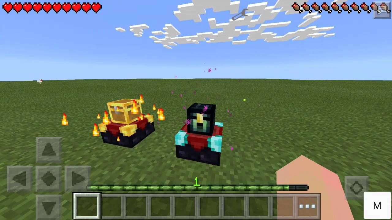 Скачать моды на Minecraft PE