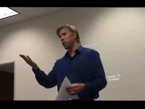 Gary Swart CEO of oDesk at SCV Startup Part 1