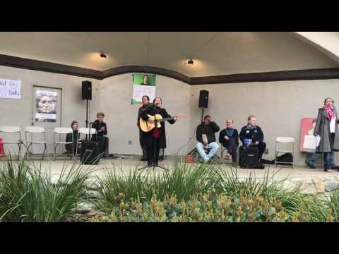 No Ban No Wall Rally in Claremont CA Feb 26th 2017