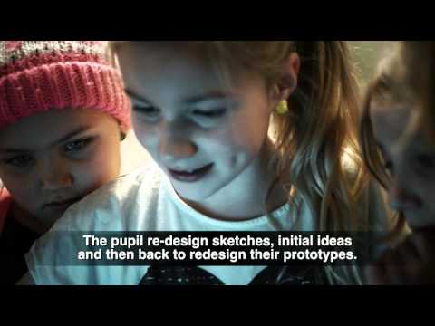 FabLab@SCHOOLdk - Teaching Design Thinking and Digital Fabrication (UK subtitles)