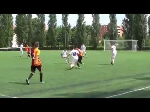 ROMA 1: GALATASARAY 2 u14 italya cup (2002 doğumlular)