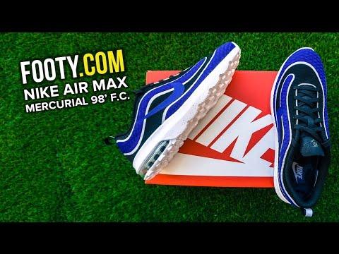 Nike Air Max Mercurial 98 Review + On Feet