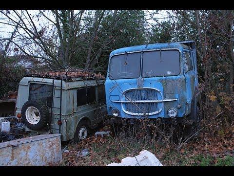 Un vecchio camion  FIAT 642N65r  per appassionati di vecchi baffoni