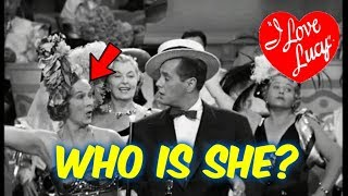 I Love Lucy!--WHO Is This OFTEN Seen WOMAN on I LOVE LUCY!? You'll Want to See!