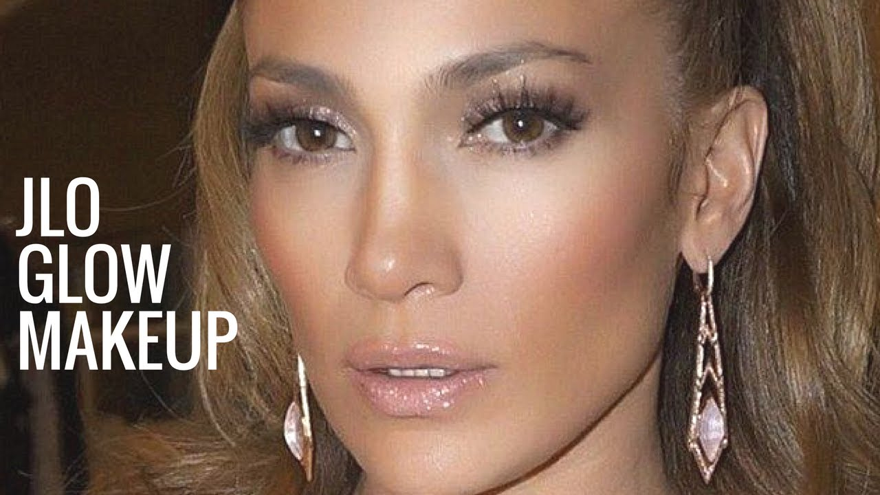 Jlo Glow Makeup Jennifer Lopez Makeup Tutorial Bronzy Glowy