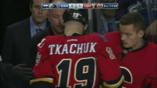 Gotta See It: Ferland fights Labate after hard hit on Tkachuk