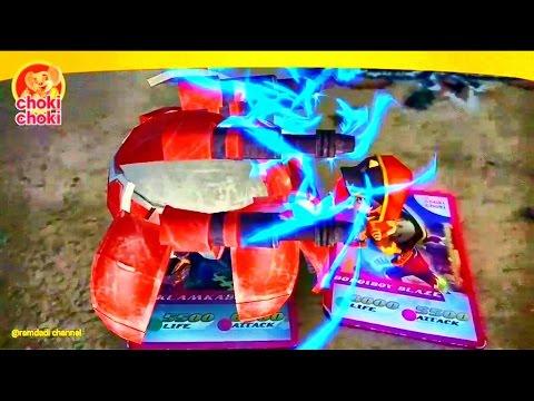 #7 Pertarungan antara Boboiboy dkk VS Klamkabot dkk, di Kartu Choki choki Boboiboy AR