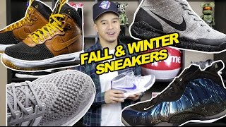 TOP 5 SNEAKERS FOR FALL & WINTER