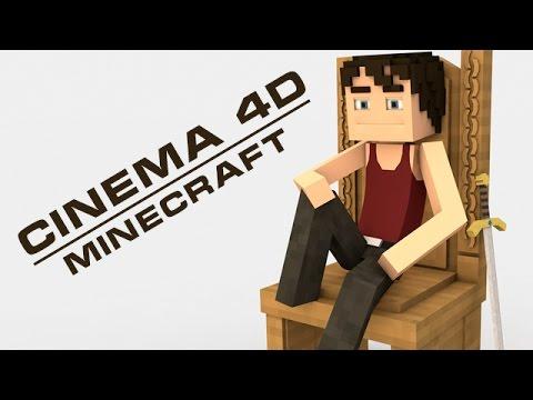 Cinema 4d minecraft middle ages models pack youtube for Cinema 4d raumgestaltung