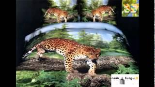 видео постельное белье с рисунком 3d