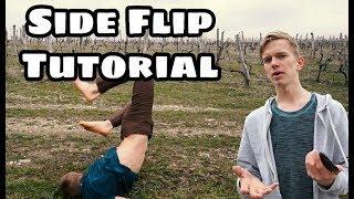 Как БЫСТРО Сделать Боковое Сальто | Смог я, сможешь и ты!!! | Side Flip Tutorial
