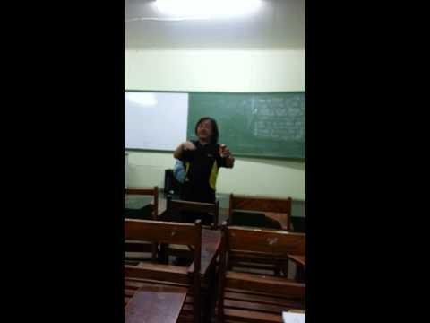 The singing bee @Gullas Law School. :)