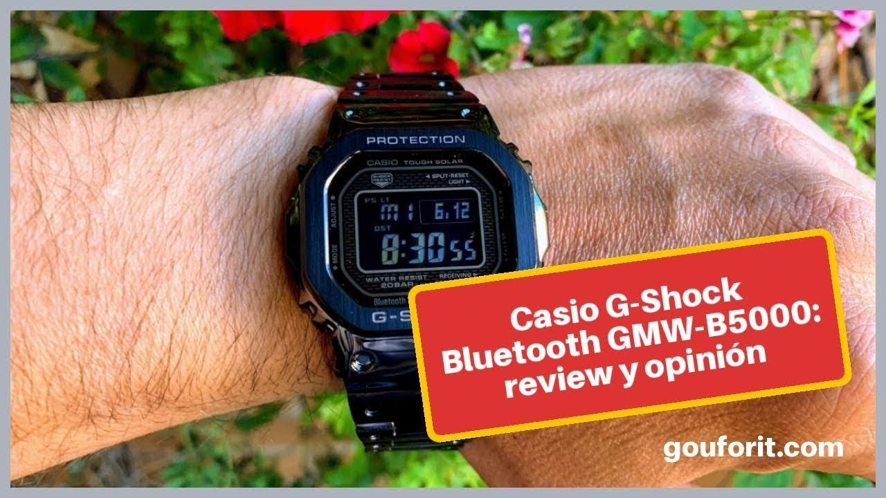 El mejor reloj Casio G Shock bluetooth