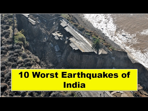 10 Worst Earthquakes In India Until 2017