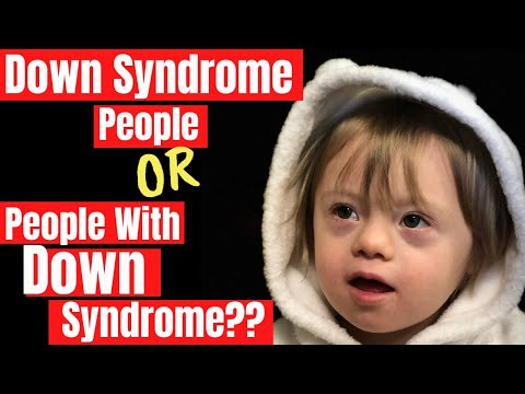 People With Down Syndrome vs. Down Syndrome People What do You Say? || Parenting Down Syndrome