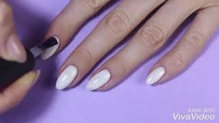 Ракушка, дизайн ногтей. Ускоренный видео урок