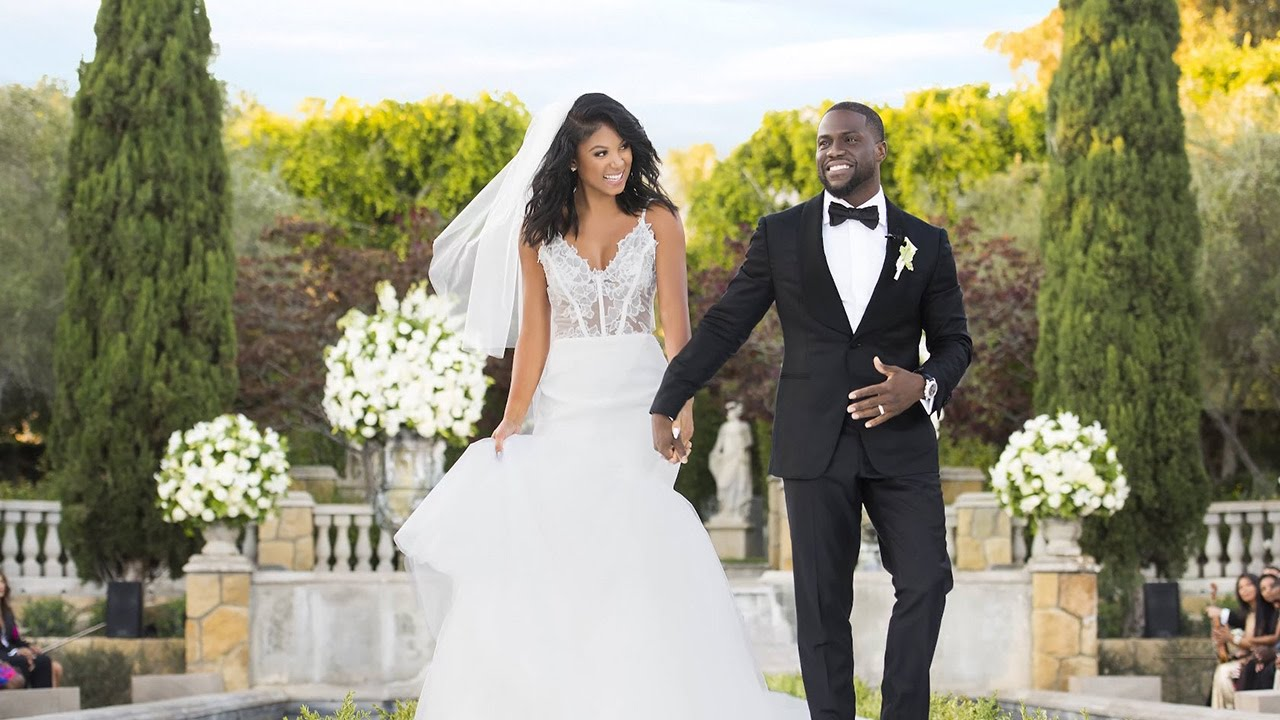 Kevin Hart and Eniko Parrish: Celebrity Weddings with Suzanne