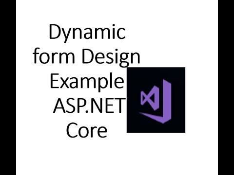 ASP.NET Core Design Dynamic Form using Html Tag Helper