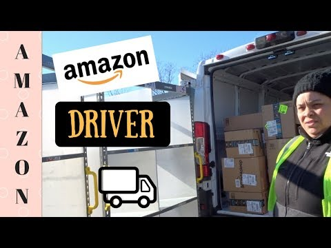 A Day in the life of an Amazon Delivery Driver! -- DC Metro Area