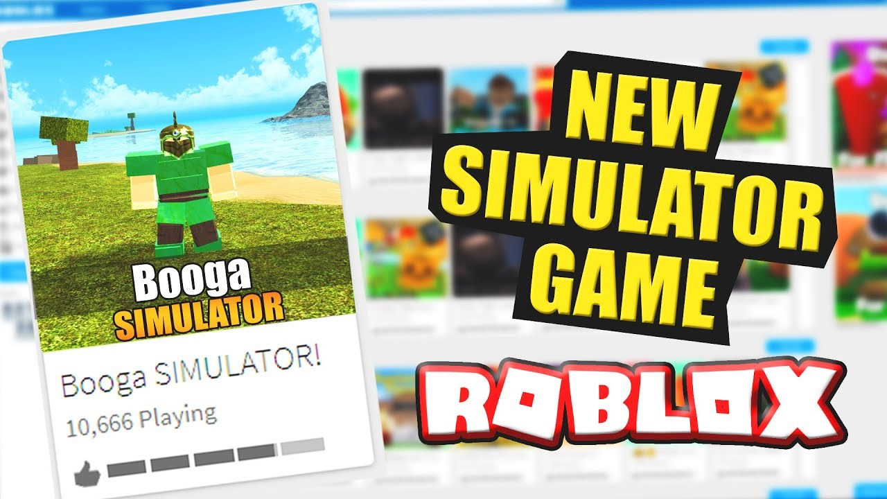 New Game Booga Simulator Coming Soon Roblox Youtube