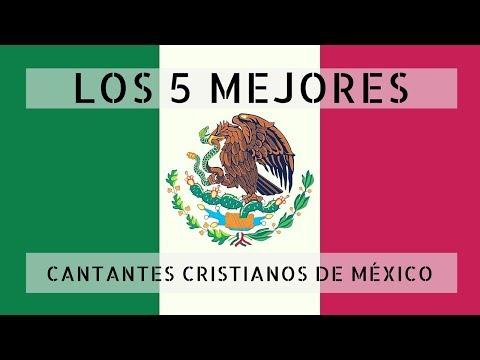 Los 5 mejores cantantes cristianos de México