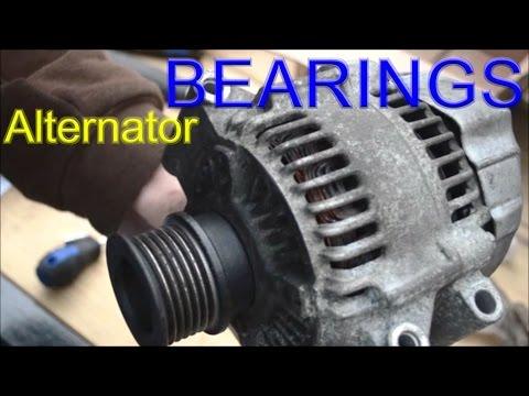 Take Apart Alternator - $1.50 Repair - Bearing Replacement - MINI Cooper Squeaking