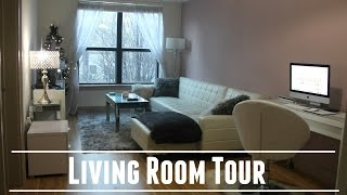 ♡ Apartment Tour • Living Room Edition • ALL WHITE EVERYTHING ♡
