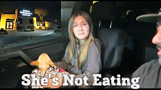 SICK DOG NOT EATING| WHAT'S WRONG WITH HER? | PHILLIPS FamBam Vlogs