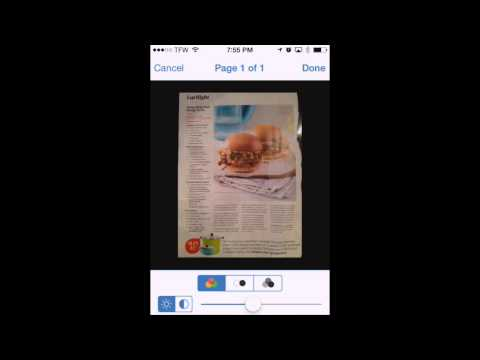 How To Scan And Organize Recipes Using Your IPhone Or IPad And PDFpen Scan+