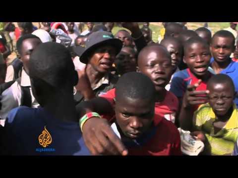 CAR citizens seek refuge in DRC