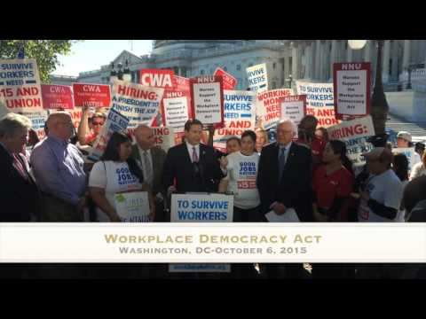 Workplace Democracy Act-October 2015