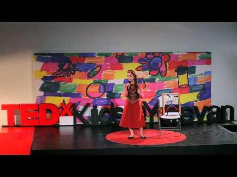 Life lessons from carpet-weaving | Ani Gevorgyan | TEDxKids@Yerevan