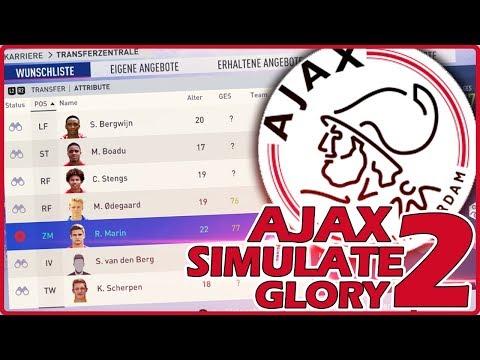 NIEDERLÄNDISCHEN YOUNGSTER GEKAUFT !! 😱🔥   FIFA 19 AJAX AMSTERDAM Simulate to Glory #2