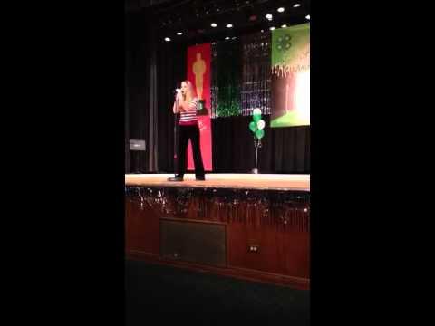 Elizabeth Hanson performing Jail House Rock