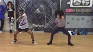 Angel Gibbs & Charlize Glass | No Flex Zone (Jersey Club Mix) | Choreography