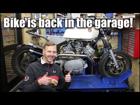 Welcome back again everyone! This week I finally picked up the bike after a lot of weeks. Now it's time to make steps towards the end. First the frame needs to be ...