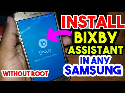 Install Bixby Assistant in Your Any Samsung Which Have N Version Updated || Without Root