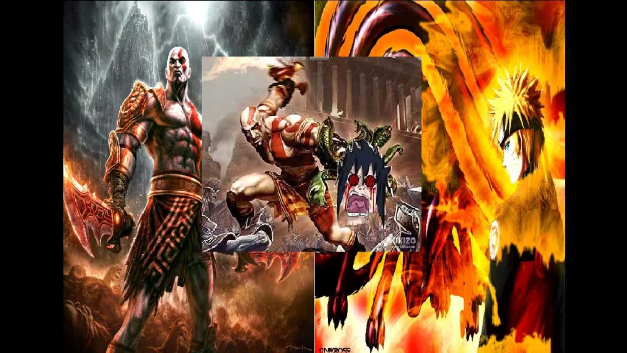 kratos vs naruto loquendo youtube