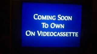 Opening to Flubber 1998 VHS