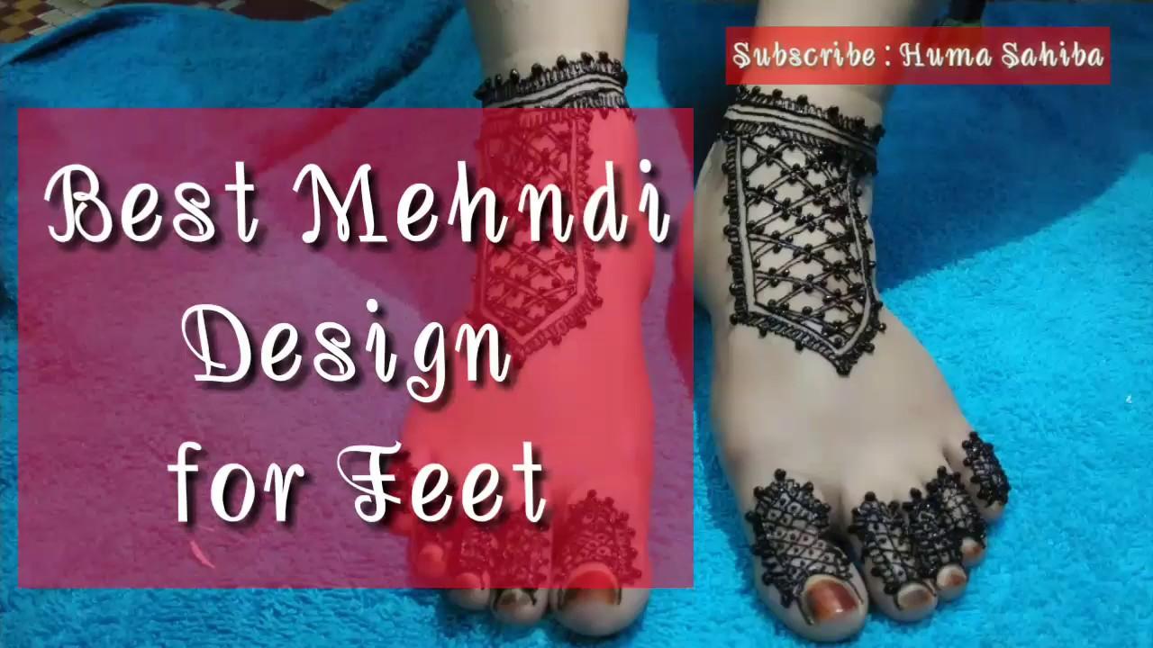New Henna Style For Foot Best Mehndi Design 2019 Henna Design