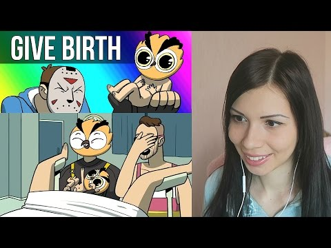 Vanoss Gaming Animated - Give Birth! REACTION!!! | SO CUTE