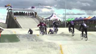 35-39 Cruiser Male Final - 2013 New Zealand BMX National Championships