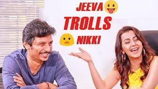 Actor Jiiva & Nikki Galrani Exclusive interview