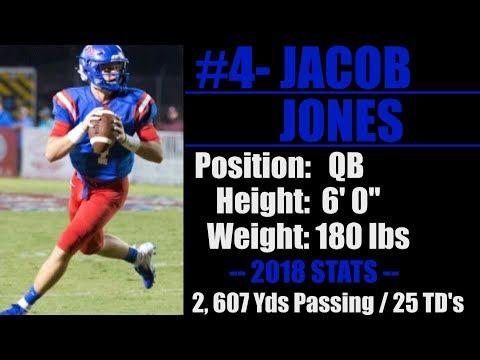 2019-Street Light Recruiting- QB-Jacob Jones (6' 0''- 180) -West End High School (Walnut Grove, AL)