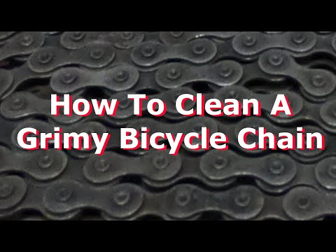 Bicycle Chain Cleaning and Maintenance