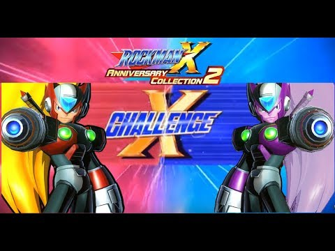 "Challenge ""Mega Man X"" - Legacy Collection 1+2  vs (Viral Zero & Nightmare Zero)"