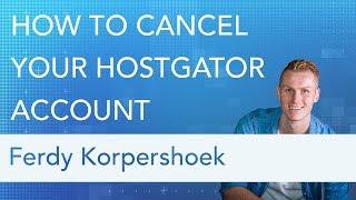How To Cancel Y๐ur Hostgator Account